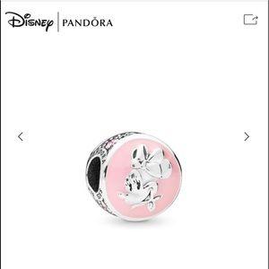 Minnie Mouse Enameled Charm